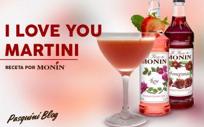 Receta: I Love You Martini por Monin