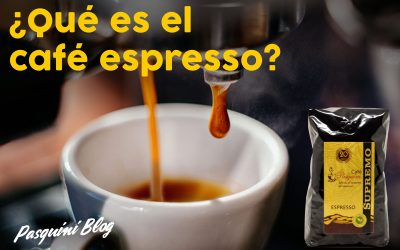 ¿Qué es el café espresso?